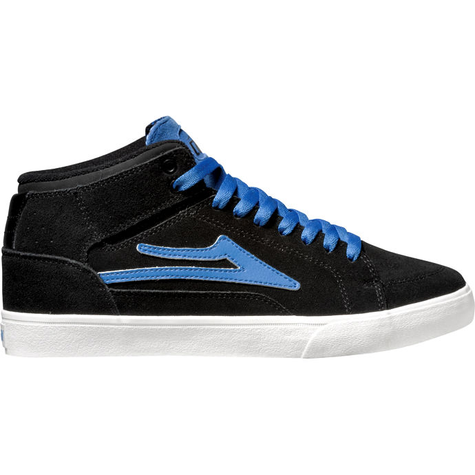 LAKAI GUY HI Black/Blue Suede 01