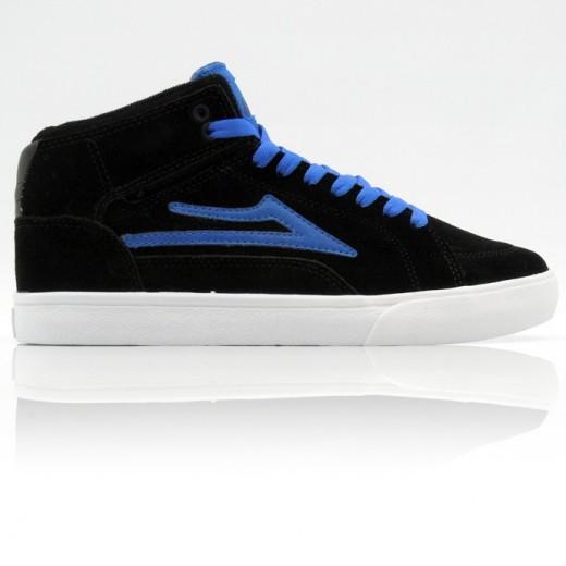 LAKAI 通販 スニーカー スケボー スケートボード シューズ ラカイ ガイ ハイ GUY HI Black/Blue Suede