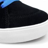 LAKAI 通販 スニーカー スケボー スケートボード シューズ ラカイ ガイ ハイ GUY HI Black/Blue Suede 質感