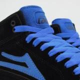 LAKAI 通販 スニーカー スケボー スケートボード シューズ ラカイ ガイ ハイ GUY HI Black/Blue Suede シューレースホール
