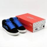 LAKAI 通販 スニーカー スケボー スケートボード シューズ ラカイ ガイ ハイ GUY HI Black/Blue Suede ボックス