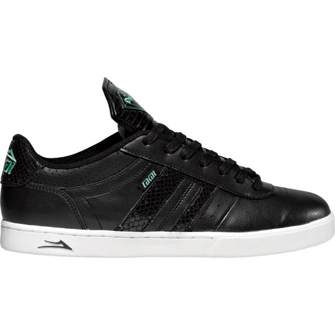LAKAI BIEBEL2 LK Black Leather DIAMOND 01