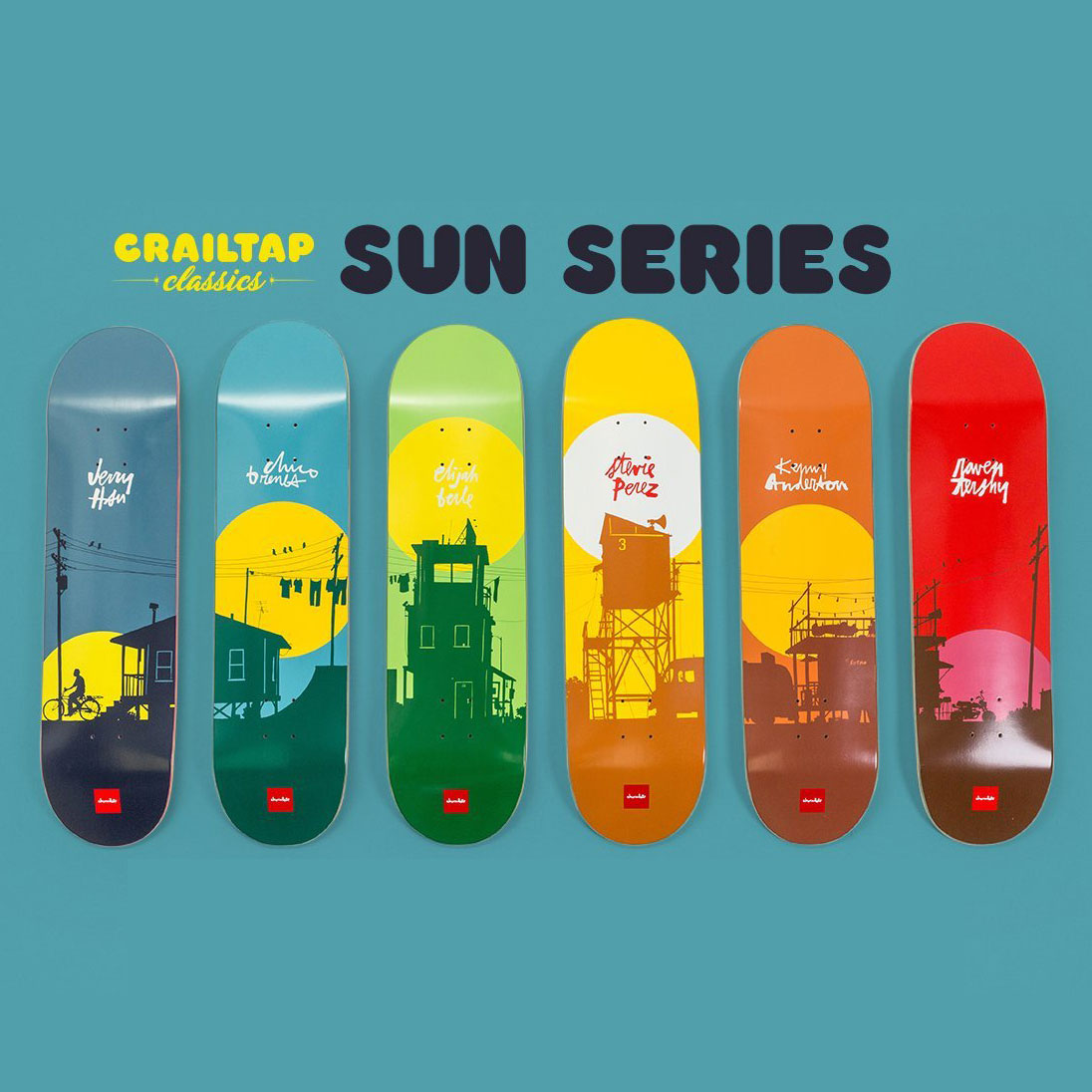 CHOCOLATE The Sun Series by Evan Hecox