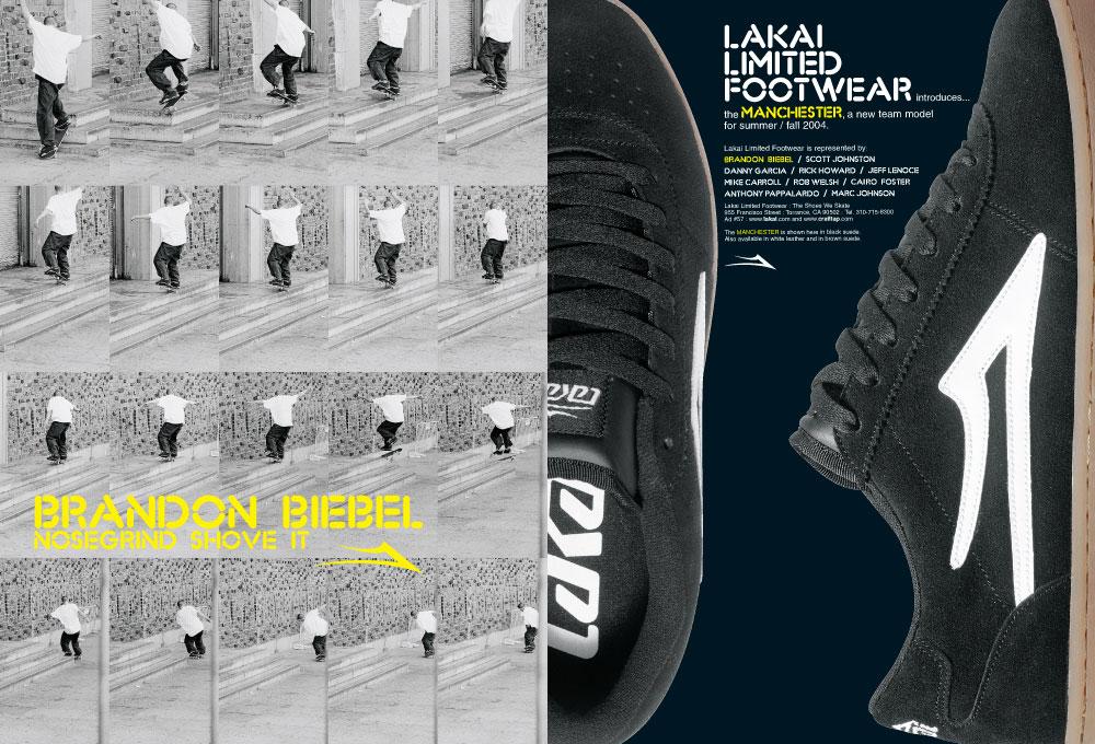 LAKAI MANCHESTER SELECT スケボー スケートボード スニーカー 通販 AD
