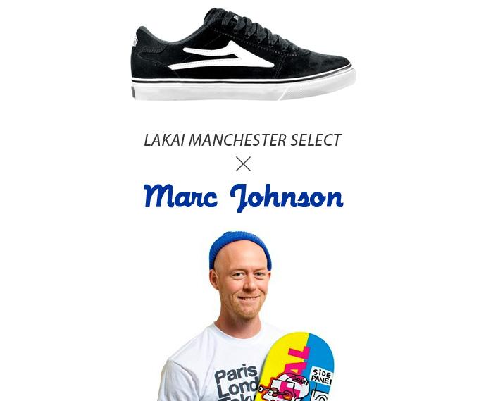 LAKAI 通販 スケボー スケートボード スニーカー MANCHESTER マンチェスター セレクト Marc Johnson マーク ジョンソン