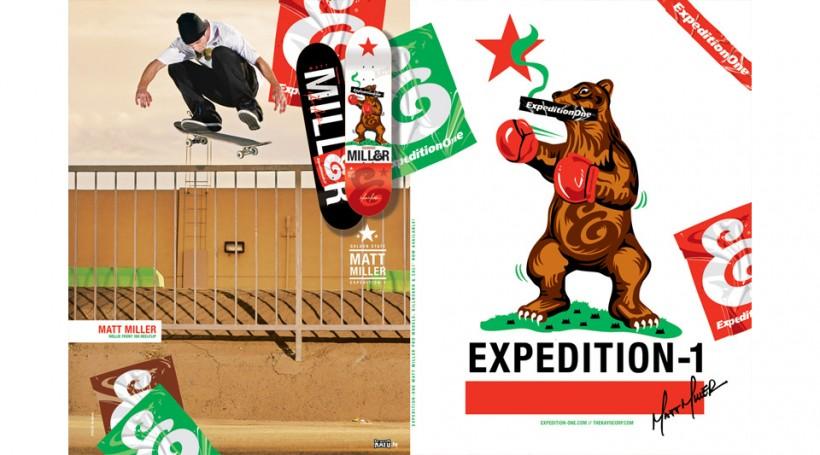 EXPEDITION ONE エクスペディションワン スケボー 通販 スケートボード デッキ ブランド Matt Miller リチャード・アンジェリデス