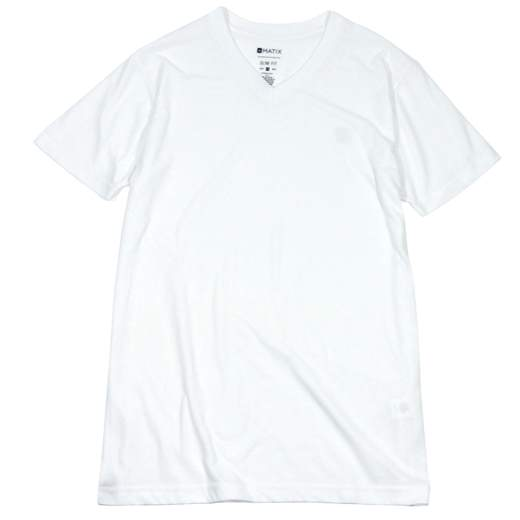 MATIX CLOTHING Monostack V-Neck T-Shirt 01