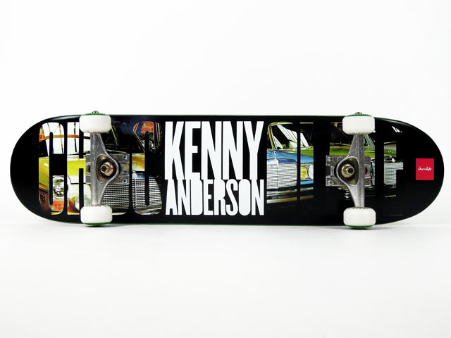 Nさんのデッキ Chocolate Kenny Anderson 通販