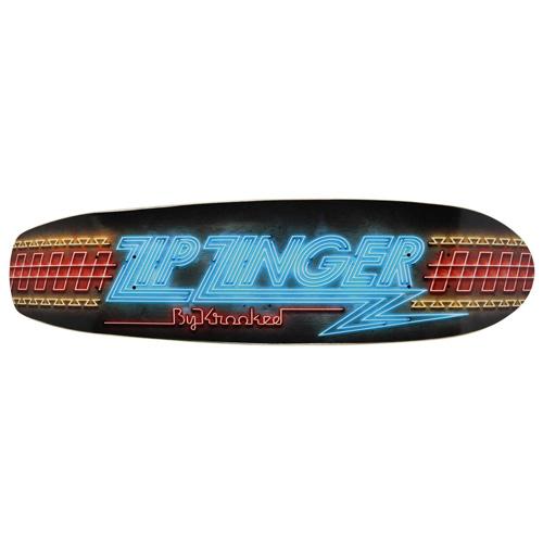 KROOKED  ZIP ZINGER NEON チーム・モデル 7.5インチ