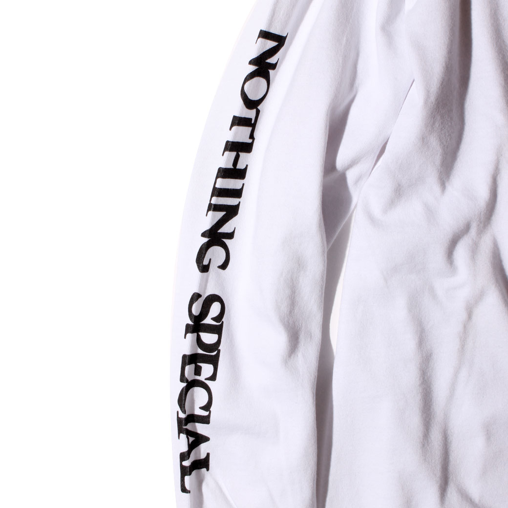 NOTHING SPECIAL L/S Tシャツ