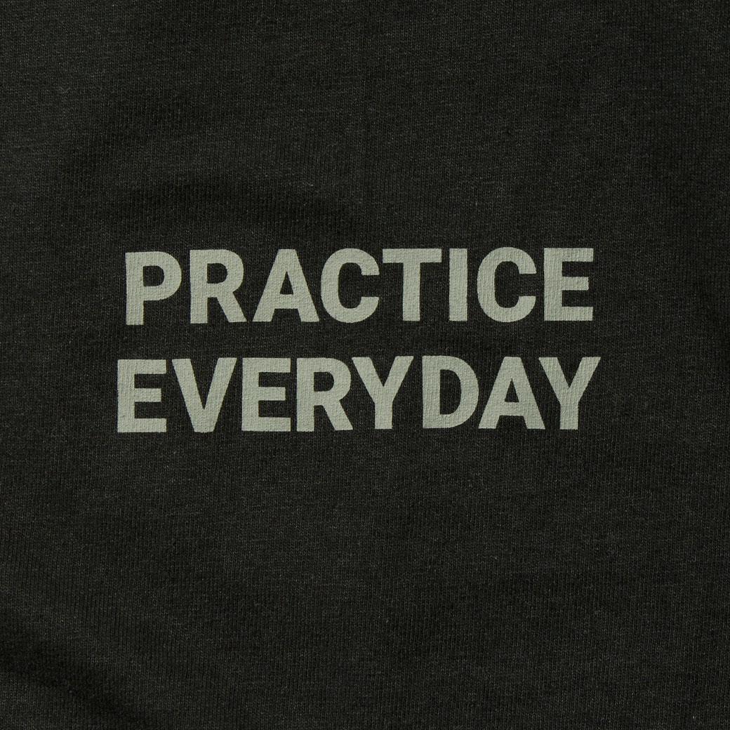 Hi5 オリジナル Tシャツ PRACTICE EVERYDAY ブラック