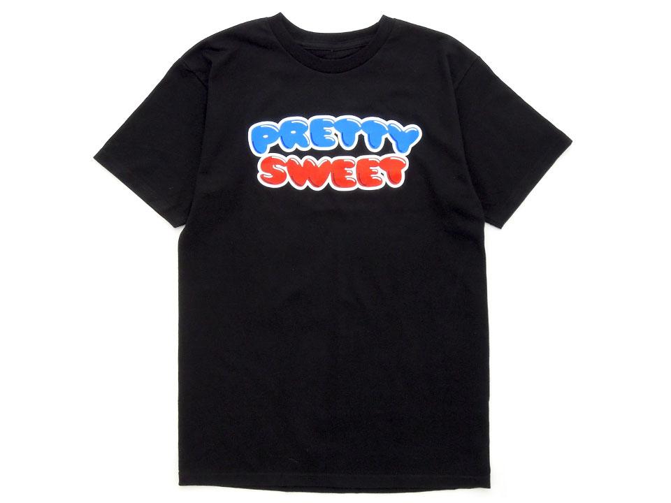 GIRL&Chocolate PRETTY SWEET DVD Tシャツ ブラック