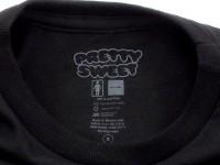 GIRL&Chocolate PRETTY SWEET DVD Tシャツ ブラック タグ