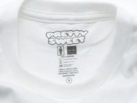 GIRL&Chocolate PRETTY SWEET DVD Tシャツ ホワイト タグ