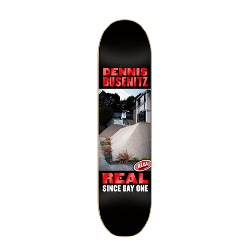 REAL SKATEBOARDS リアル スケートボード スケボー 通販 デッキ Dennis Busenitz COLLECTORS EDITION