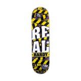 REAL SKATEBOARDS リアル スケートボード スケボー 通販 デッキJames Hardy WARNING SERIES