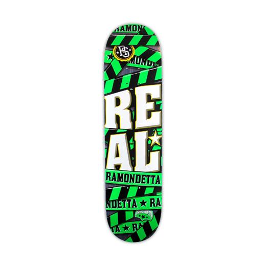 REAL SKATEBOARDS リアル スケートボード スケボー 通販 デッキ Peter Ramondetta WARNING SERIES