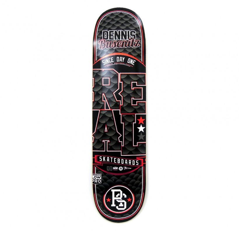 スケボー 通販 スケートボード デッキ REAL Skateboards LOCK UP リアル スケートボード デッキ Denis Busenitz デニス・ブセニッツ