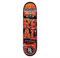 スケボー 通販 スケートボード デッキ REAL Skateboards LOCK UP リアル スケートボード デッキ イショッド・ウェア