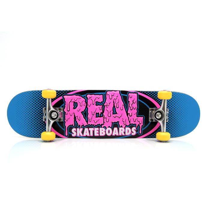 スケボー コンプリートデッキ 通販 スケートボード 完成品 REAL リアル 激安
