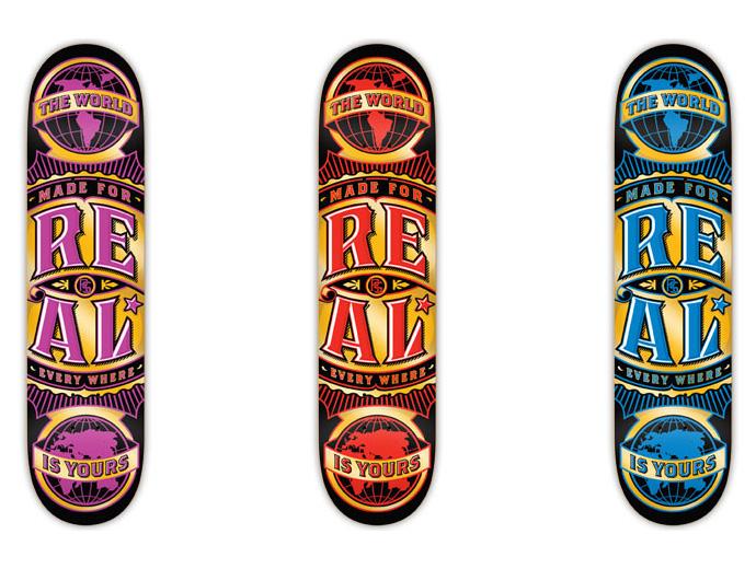 スケボー 通販 スケートボード デッキ REAL リアル WORLD WIDE