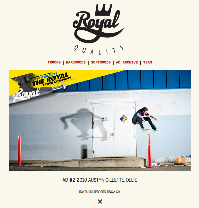 ROYAL SKATEBOARD TRUCKS CO.
