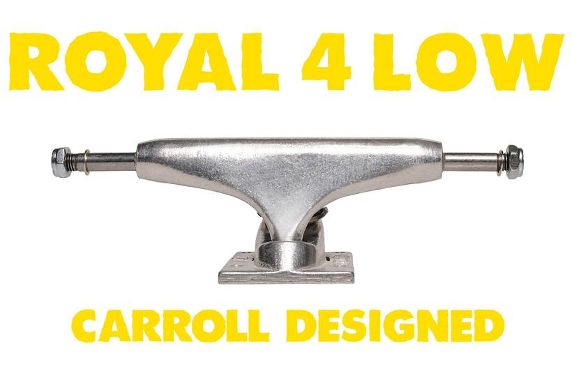 スケボー スケートボード トラック 選び方 ROYAL 4 FOUR LOW ロー ロイヤル