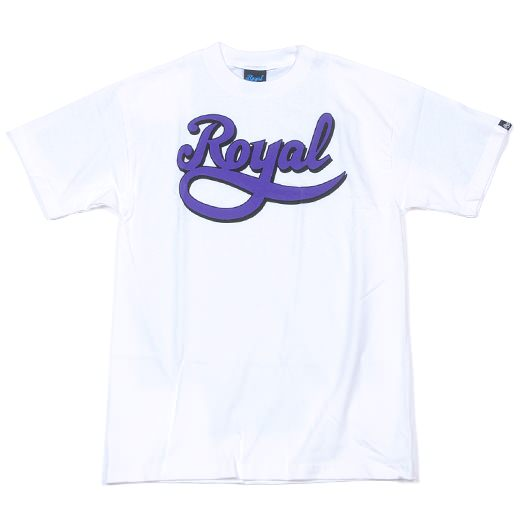 Royal Skatebord Trucks Script T-Shirt 01