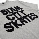 Slam City Skates スラムシティスケーツ ロンドン クラシック ロゴ Tシャツ 通販 Classic Logo T-Shirt ロゴプリント部分