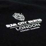 Slam City Skates スラムシティスケーツ ロンドン クラシック ロゴ Tシャツ 通販 Classic Logo T-Shirt Black バックプリント