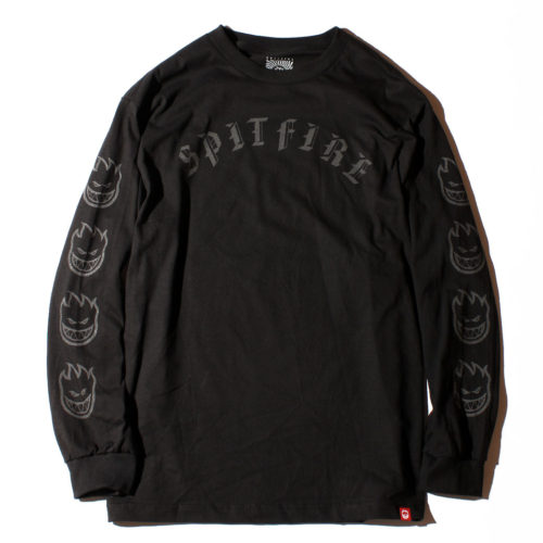 SPITFIRE OLD E L/S Tシャツ リフレクティブプリント