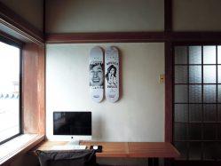 スケボー 壁 飾る デッキ ディスプレイ ツール