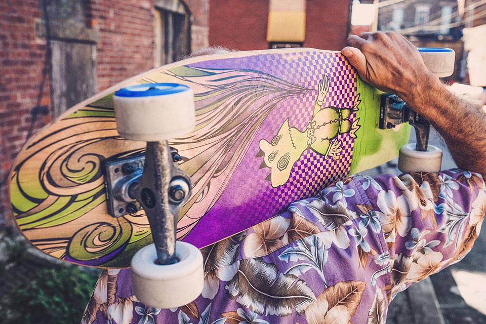 チャンス追求型スケーター