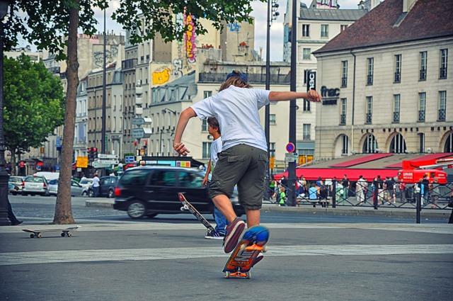 オリンピックのおかげで、ストリートスケーターが応援されるかも。