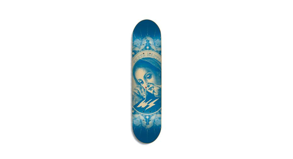 スケボー 通販 スケートボード デッキ SKATE MENTAL MERRY MARY スケートメンタル マリア