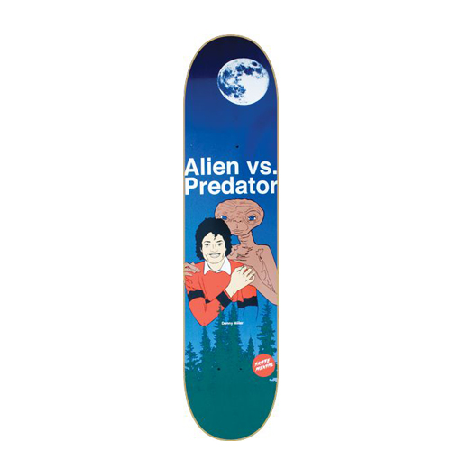 Skate Mental スケボー スケートボード デッキ TEAM MODEL Alien VS Predator Night