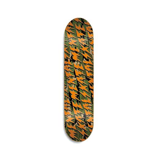 スケボー スケートボード 通販 ショップ デッキ 激安 セール Skate Mental TEAM MODEL CAMO BOLTS