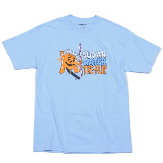Skate Mental Skateboards Sugar Water Tre Flip T-Shirt 01