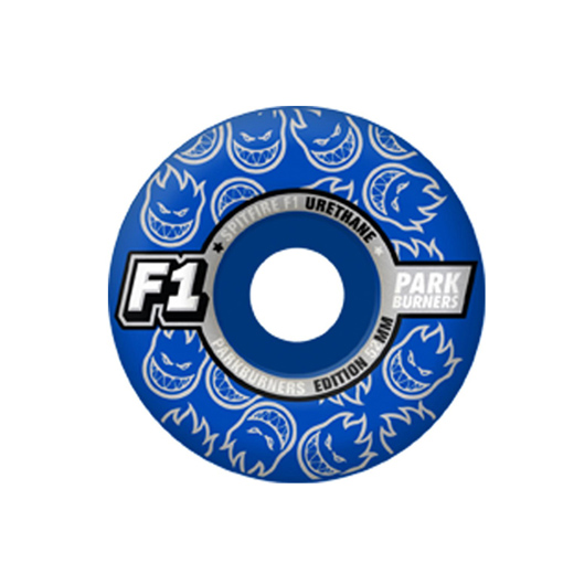 SPITFIRE WHEELS スケボー スケートボード ウィール F1 PARK BURNERS Royal Blue 52/54mm
