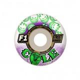 SPITFIRE WHEELS スケボー スケートボード ウィール F1 STREET BURNERS Cole COBRA white 54mm