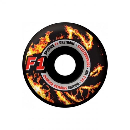 SPITFIRE WHEELS スケボー スケートボード ウィール F1 STREET BURNERS Charred Remains 52.5mm