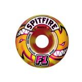 SPITFIRE WHEELS スケボー スケートボード ウィール F1 STREET BURNERS ETERNAL Red/Yellow SWIRL 50mm