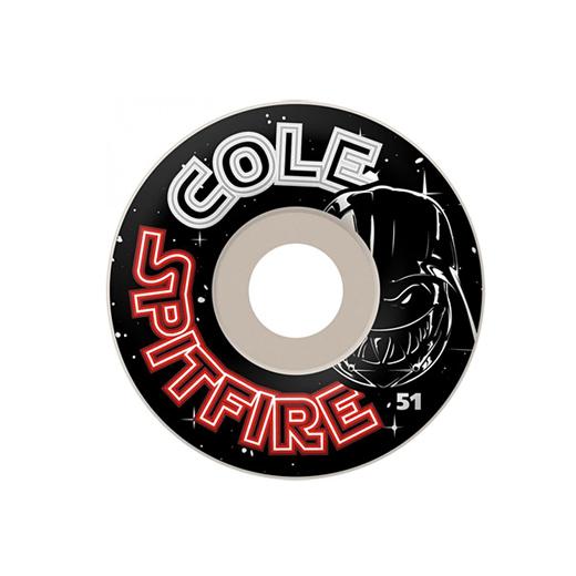 SPITFIRE WHEELS スケボー スケートボード ウィール Chris Cole SIGNATURE DARKSLIDE 51mm