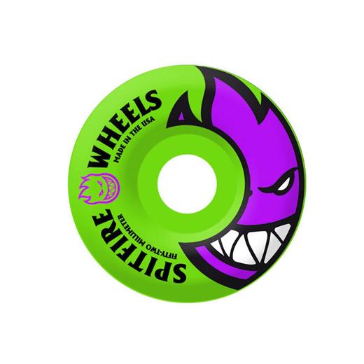 SPITFIRE WHEELS スケボー スケートボード ウィール BIGHEAD Neon Green 54mm