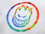 スケボー ファッション 通販 SPITFIRE TRIP SWIRL Tシャツ 胸ロゴ