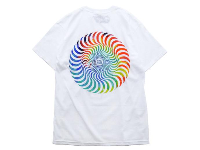スケボー ファッション 通販 SPITFIRE TRIP SWIRL Tシャツ 後ろ