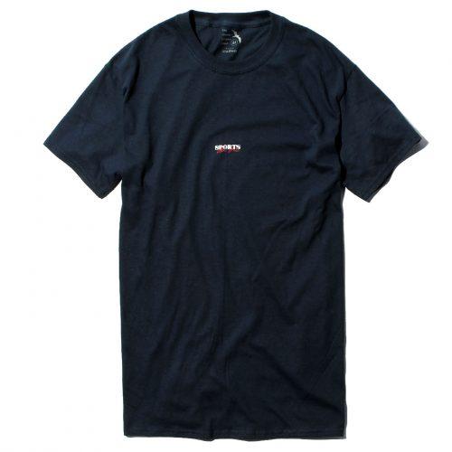Hi5 オリジナル Tシャツ SPORTS LIKE SHIT ネイビー