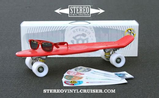 Stereo Vinyl Cruiser ステレオ バイナル クルーザー プラスティック コンプリートデッキ