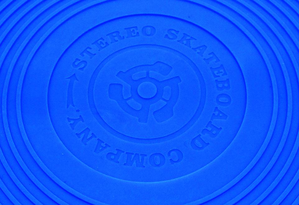 STEREO VYNIL CRUISER ステレオ バイナル クルーザー プラスチック ミニ デッキ ロゴ