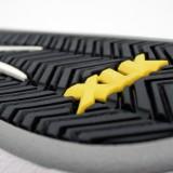 LAKAI TELFORD XLK FOURSTAR 15YEAR ANNIVERSARY BLACK PACK 通販 スニーカー スケボー スケートボード ラカイ フォースター ソール拡大